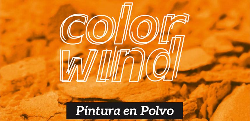 ColorWind, la pintura en polvo de Iris